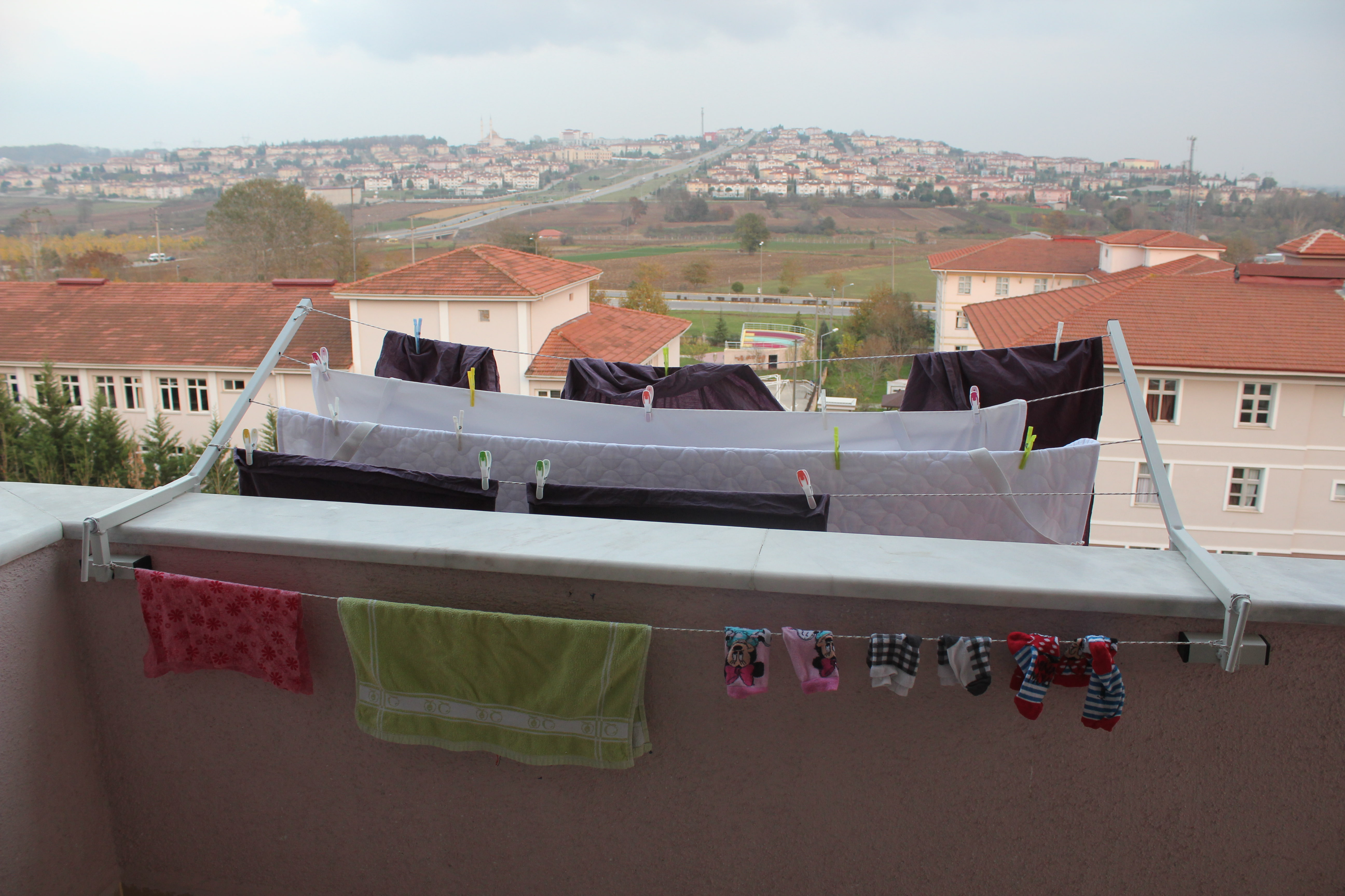 Duvara Uyumlu Çamaşırlık